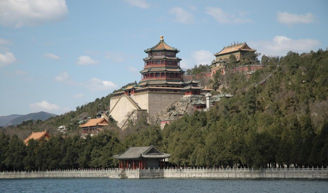 We did the complete tourist thing when we visited Beijing and Xi'an in China in 2007. One of the most scenic as well as historic is the Summer Palace. Its architecture, landscape and lakes are something else.