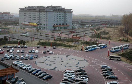 Here's a view from my room Jiu Hua Spa & Convention Center (Xiao Tan Shan; Chang Ping District) in Beijing in 2007 during a trip by the Barron Collier High School marching band. Kind of universal in that early-morning, things need to get rolling kind of moment. CLICK FOR DISNEY PHOTOS | CLICK FOR ASSORTED PHOTOS | CLICK FOR CHINA PHOTOS © Chuck Curry and A Gator in Naples, 2014. Unauthorized use and/or duplication of this material without express and written permission from this blog's author and/or owner is strictly prohibited. Excerpts and links may be used, provided that full and clear credit is given to Chuck Curry and A Gator in Naples with appropriate and specific direction to the original content.