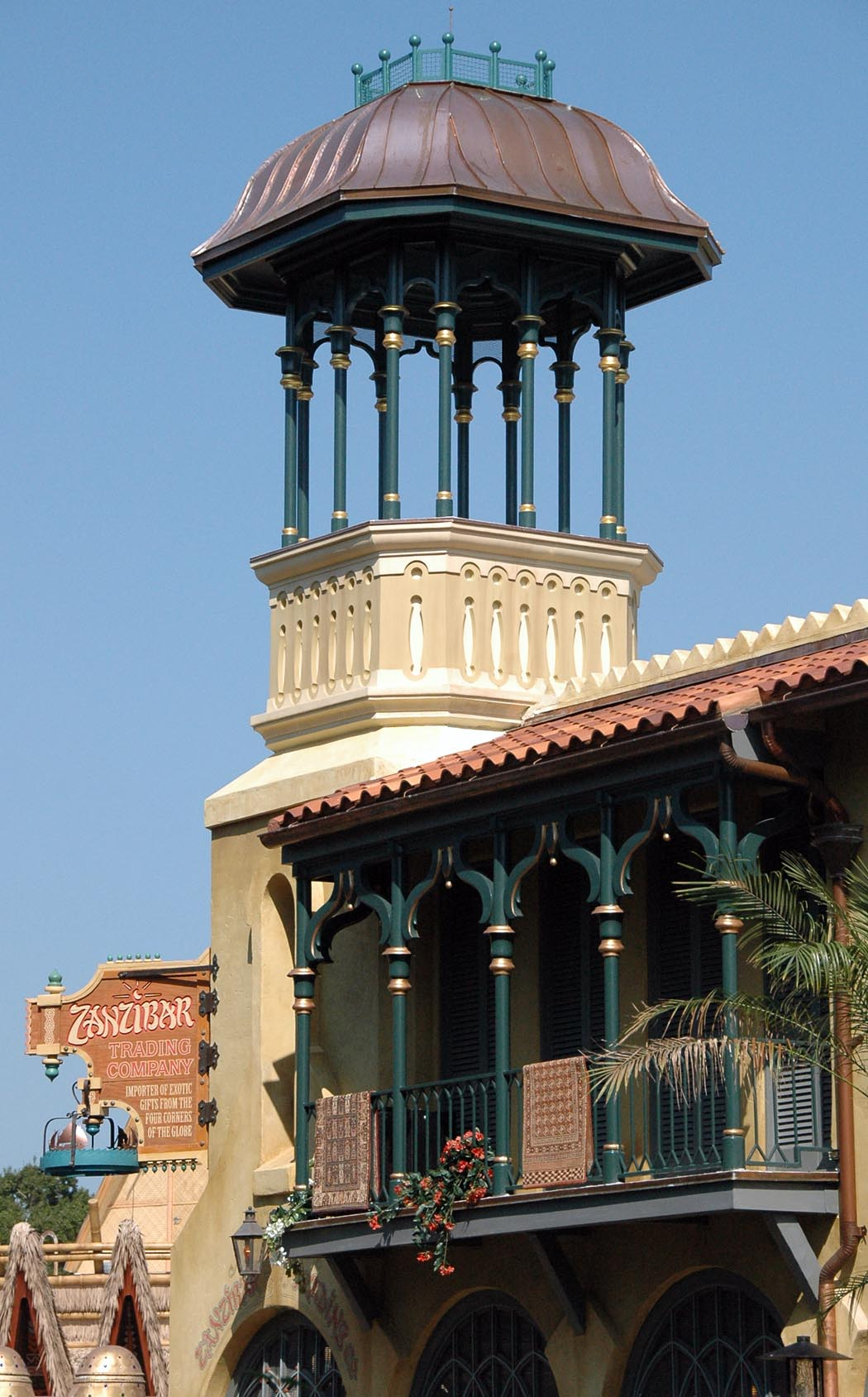 Today s disney photo is this a minaret a gator in naples for Architecture companies in florida