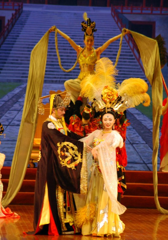 Here's another shot of a performance in Beijing that the Barron Collier High School marching band enjoyed during our visit to China in 2007. As I wrote before about the performance that included acrobats, just about everything we saw in China was interesting and we enjoyed it as part of a trip of a lifetime.