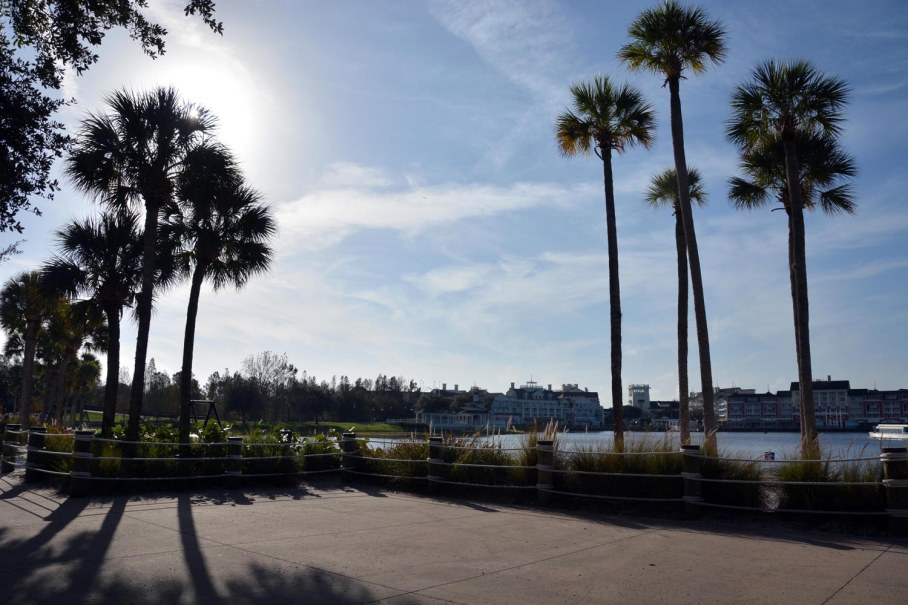 Somehow, the sun shines a bit brighter when you're on vacation (or even a day trip). Allison got this shot at the Yacht Club and Beach Club resorts as she and Debbie headed over to EPCOT on Jan. 3, 2015, during their visit to Walt Disney World.