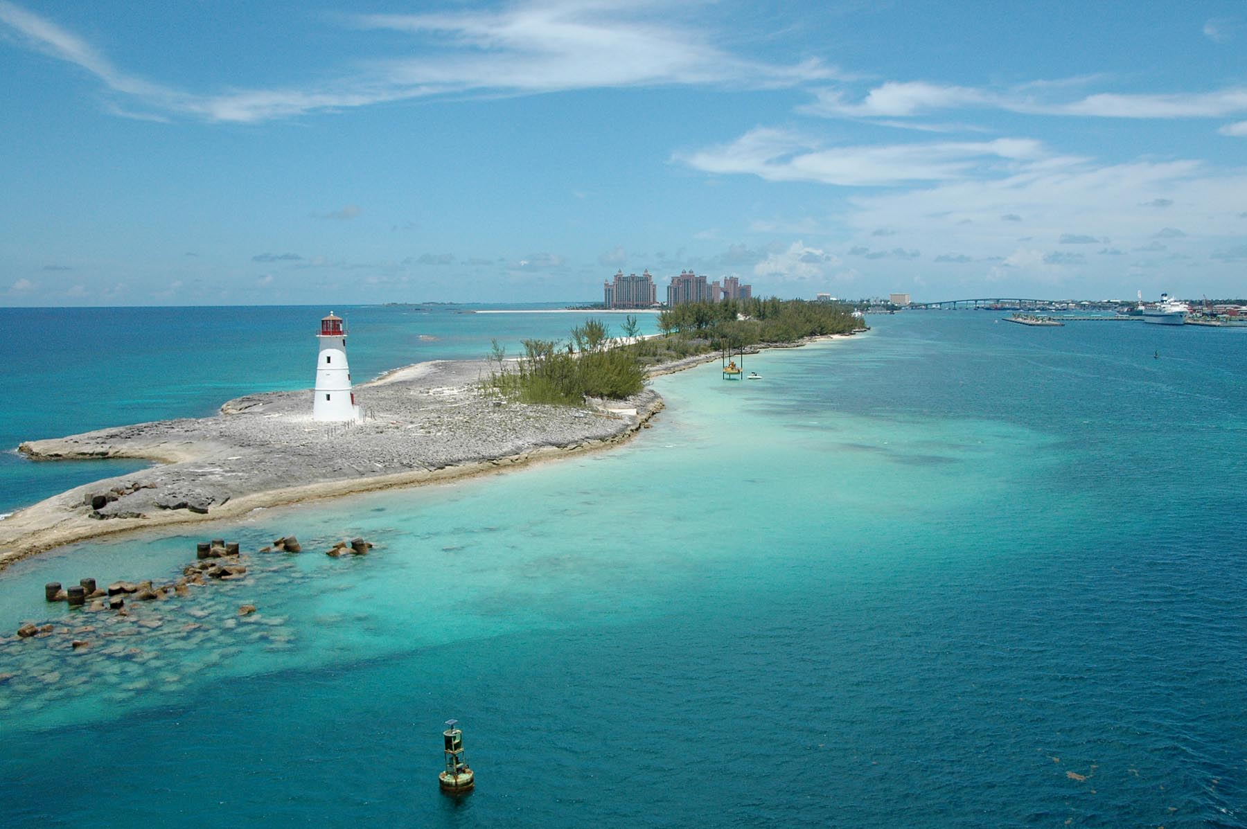 A Look Back Another Nice Shot Of Nassau S Lighthouse A