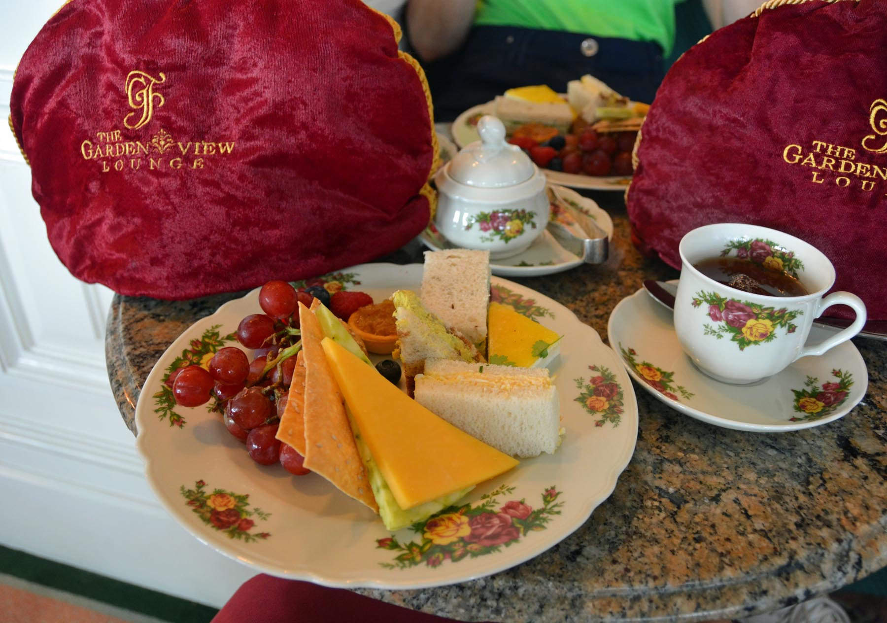 Today S Disney Photo Afternoon Tea At Grand Floridian A Gator In Naples