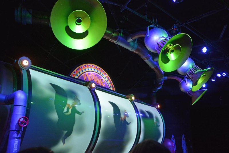 Here's a shot Allison got on the ride at he Journey into Imagination attraction at EPCOT. It isn't one of the top attractions, but we like it a lot. Here's a shot by Allison on Aug. 16, 2015. Allison and Debbie were at Walt Disney World for a long weekend when she got the shot.