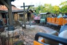 Here's another view as we pulled into the station at the end of the Big Thunder Mountain Railroad ride at the Magic Kingdom. We were at Walt Disney World for an overnight visit when I got this one May 7, 2016.