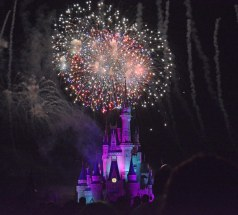 As we come to and in the spirit of the Fourth of July of 2016, I'm posting a few fireworks photos by Allison. Here's another of the great shots she got of fireworks on Friday, Oct. 16, 2015, during Mickey's Not-So-Scary Halloween Party at the Magic Kingdom. Of course the fireworks go off over the Cinderella Castle at Walt Disney World.