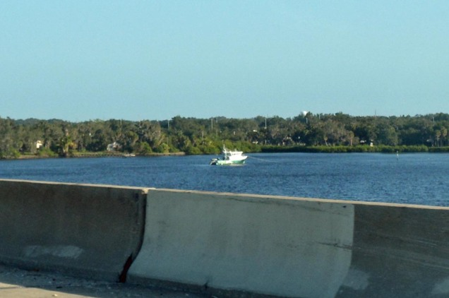 Well, here it is again. I took this shot of this vessel at anchor in the Manatee River near the bridge at Interstate 75 on Nov. 5, 2016, as we headed to Walt Disney World. We always see this vessel moored at this exact spot EVERY time we travel northbound or southbound there. EVERY TIME.