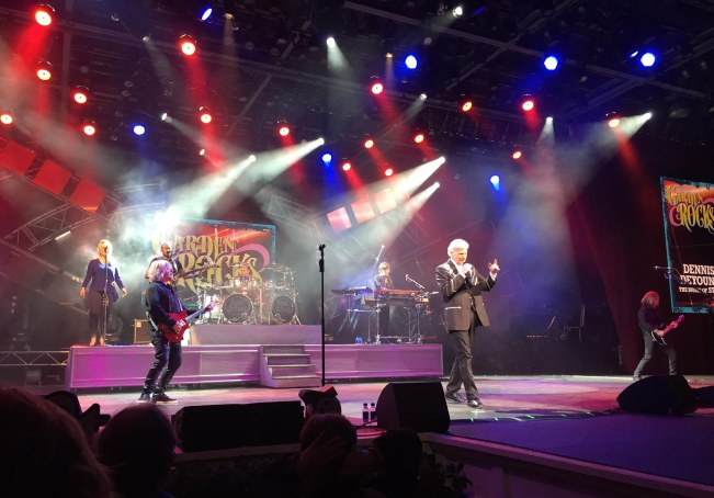 "What a great short-set concert! Deb, Allison and I caught Dennis DeYoung (frontman and heart and soul of ""Styx"") at the Garden Rocks Concert Series 2017 on March 5, 2017, at EPCOT. He was tremendous. DeYoung is the second performer of the 2017 series for the EPCOT International Flower & Garden Festival. Each set by DeYoung was 30 minutes and he did three of them each of the two nights he was Walt Disney World."